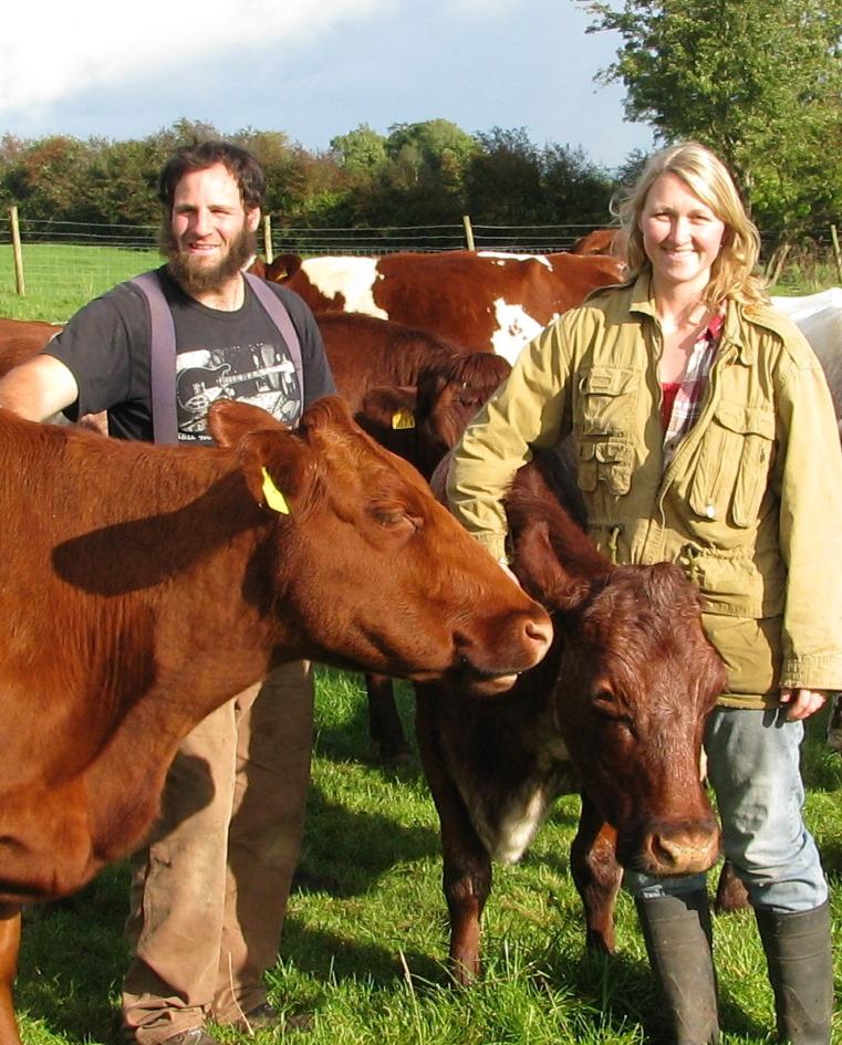 Owen Crawford Mimi Crawford Organic Farming Ireland